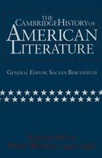 The Cambridge History of American Literature: Volume 1, 1590-1820 (The-ExLibrary