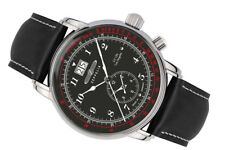Zeppelin Men's 8644-2 SERIES LZ126 LOS ANGELES GMT 2nd Time Zone 42mm Timepiece