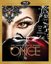 ONCE UPON A TIME - SEASON 6 - BLU RAY - Region free