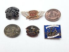 NEW Hells Angels Kent Custom Show Pin Badges 91,92,93,94,96,97 Bike Memorabilia
