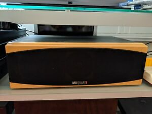 MB Quart QL S330CTR QLS 330 Center Channel Speakers Brand New Beech Only