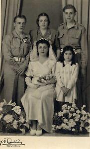#20321 ATHENS Greece 23.4.1947.Greek-English marriage? Photo RPPC. ARISTIDIS.