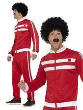 1980s Scouser Tracksuit Shell Suit Mens Ladies Fancy Dress Costume Retro Outfit