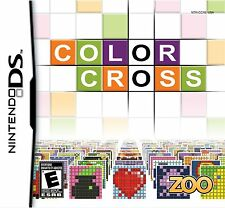 *BRAND NEW SEALED* Color Cross (Nintendo DS, 2010) Over 150 Different Puzzles