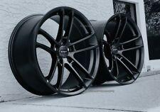 "Satin Black Hellcat Wheels 20x9/20x11""  Deep Concave  CHALLENGER/CHARGER"