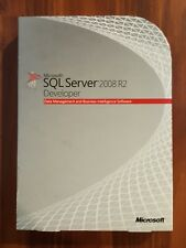 Microsoft SQL Server 2008 R2 Developer RETAIL Box