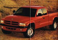 Big 1998 Dodge DAKOTA PickUp Truck Brochure w/Color Chart: SPORT,SLT,Club Cab,+,