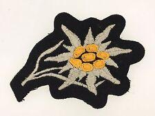 Germany/German WWII Gebirgsjager/Mountain Troops cloth ski cap edelweiss BLACK