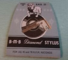 LP/78 µpm Records BMB 33 STYLUS for ACOS GP-73 TURN OVER Stereo Cartridge Needle