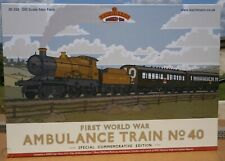 BACHMANN 'OO' GAUGE 30-325 FIRST WORLD WAR AMBULANCE TRAIN NO.40