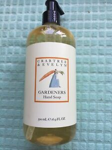 Crabtree and Evelyn Gardeners Hand Soap 500ml NEW