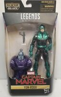 Marvel Legends Yon-Rogg from Captain Marvel Kree Sentry Build A Figure New