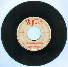 Phil RAMON JACINTO & THE RIOTS Let Me Call You Sweetheart OPM 45 rpm Record