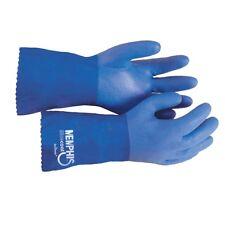 "Memphis Gloves 6632 Blue Rubber Coat, Triple Dipped 12"" Length, XL"