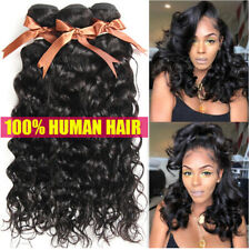 "THICK 20""26""30"" 100% Unprocessed Virgin Human Hair Weave Water Wave Extensions x"