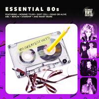 """Various Artists : Essential 80s VINYL 12"""" Album (2017) ***NEW*** Amazing Value"""