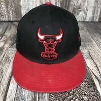Chicago Bulls 9fifty New Era Hardwood Classics Windy City SnapBack Hat Cap M-L