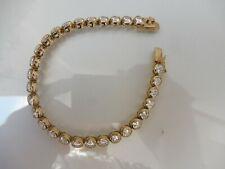 Edles , altes Armband , 925 Silber vergoldet  , mit geschliffenen Steinen