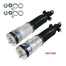 Pair Rear Air Shocks W/O ADS 37126791675 / 37126791676 For BMW F01 F02 2009-2014