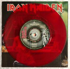 "IRON MAIDEN -Twilight Zone- Original UK Red Vinyl 7"" +Picture Sleeve (Record)"