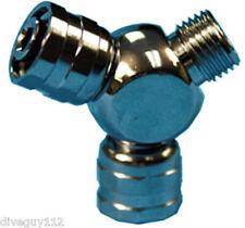 Adapter Splitter Octo Hose Male Regulator to Female x2 LP Hose Scuba Diving A228