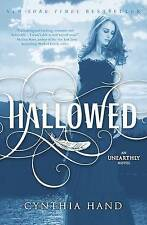 NEW Hallowed: An Unearthly Novel by Cynthia Hand