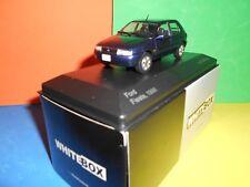 CORGI Vanguard/Whitebox FORD FIESTA, 1996 nuove solo 1,000 MADE