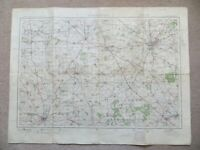 "ORDNANCE SURVEY POPULAR EDITION 1"" MAP: NORTHAMPTON Sheet 83 (1924)"