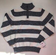 NWT Oshkosh BGosh Boy size 7 Strip cotton sweater  7