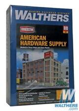 WALTHERS CORNERSTONE HO SCALE MODERN GRAIN HEAD HOUSE WITH SILOS  WAL9333097
