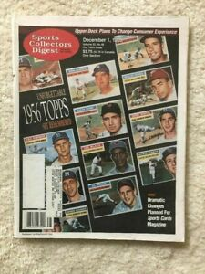 1995 Sports Collectors Digest 1956 Topps Set Remembered Jim Piersall Profiled