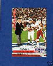 1992 PS CHUCK NOLL DARRELL GREEN Pittsburgh Steelers Washington Redskins Card