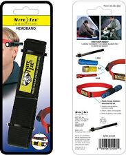 Nite Ize Black Flashlight Headband One Size Fits All Design NPO-03-01 NEW