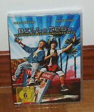 LAS ALUCINANTES AVENTURAS DE BILL Y TED DVD NUEVO PRECINTADO CASTELLANO R2