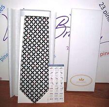 VERA BRADLEY RARE BARCELONA SILK NECK TIE BOXED SET BAEKGAARD NEW IN GIFT BOX