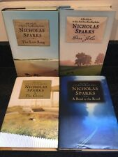 Lot Of 4 HC Nicholas Sparks BOOKS: Choice Dear John: Last Song: Bend In the Road