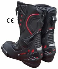 Bottes De Moto RACE Professionnel CE italienne Marque 40 41 42 43 44 45 BIESSE