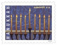 Hanukkah Sheet of 20 Forever Postage Stamps Scott 5153