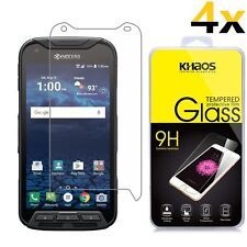 4x KHAOS For Kyocera DuraForce Pro HD Tempered Glass Screen Protector