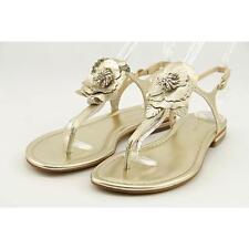 Marc Fisher Elysone 2 Women US 8 Gold Slingback Sandal Blemish  15549