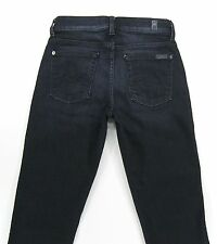 SEVEN 7  FOR ALL MANKIND - KIMMIE  Straight Leg  Dark Wash  jeans size 25/32