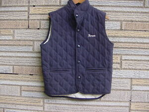 PERAZZI Blue Vintage Shooting Vest / Made In Italy / Size M (40-42) Shotgun