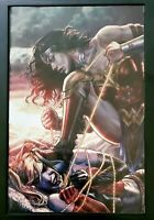 Justice League vs Suicide Squad #1 Bermejo Forbidden Planet Virgin Variant NM+