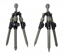 Set 2 x Dinsmores Syndicate Carp XT Tripods, carp fishing rod pod system