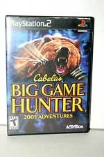 CABELA'S BIG GAME HUNTER 2005 ADVENTURES USATO PS2 VER AMERICANA NTSCU FR1 38848