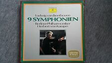 Karajan - 9 Symphonien Beethoven 7 LP Box