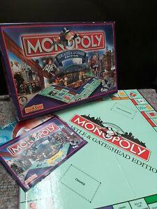 classic NEWCASTLE & GATESHEAD EDITION MONOPOLY (Winning Moves, COMPLETE) UK
