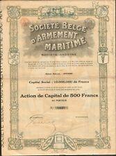 DECO => Société Belge d'ARMEMENT MARITIME (BELGIQUE) (F)