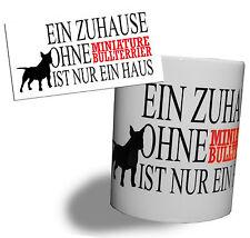 Tasse de café tasse Gobelet miniature Bull terrier MINI CAMIONNETTE BULLTERRIER