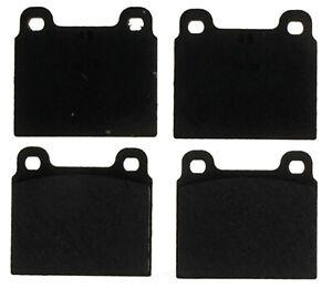 Disc Brake Pad Set-Organic Disc Brake Pad Front ACDelco Pro Brakes 17D45